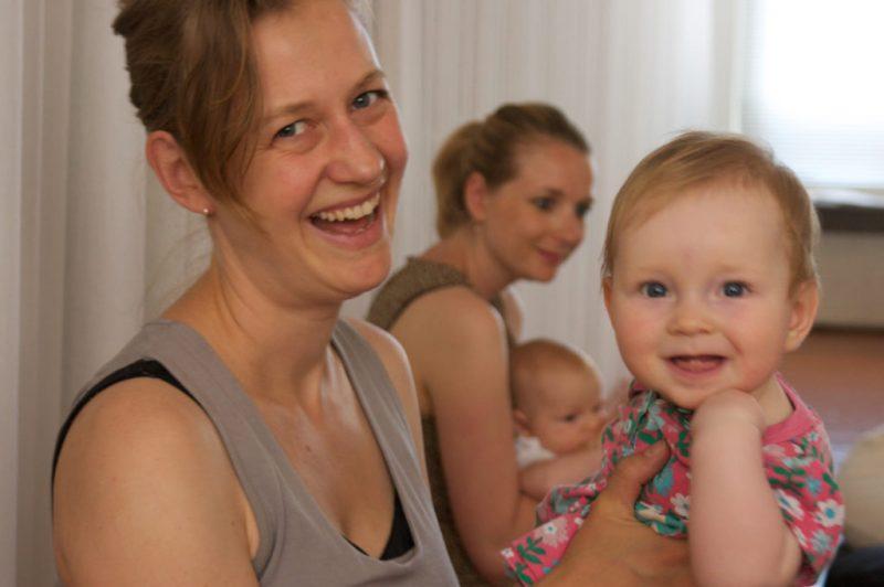 bewegen met je baby Amsterdam